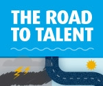 The Road to Talent Infographic