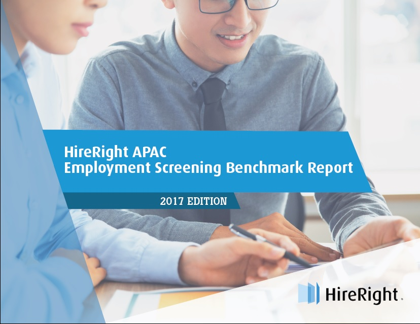 2017 APAC Employment Screening Benchmark Report