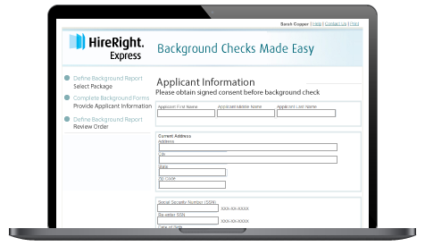 HireRight employee screening services