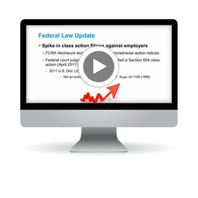 Maintaining Compliance: Employment Screening Legislative Update
