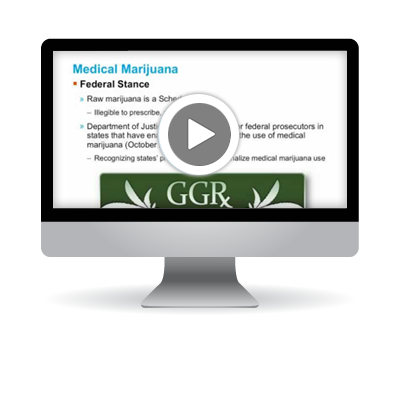 Medical Marijuana: What You Should Know from an MRO's Prospective