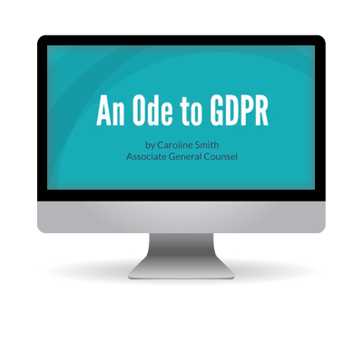 Video - An Ode to GDPR