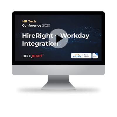 HireRight & Workday - Certified integration