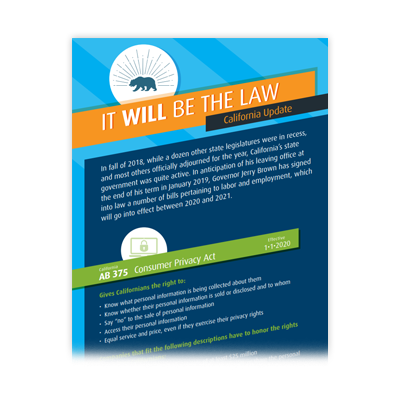 Infographic - It Will Be The Law
