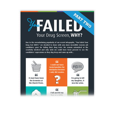 You Failed Your Drug Screen WHY?!? Part Two