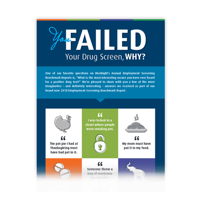 Infographic - You Failed Your Drug Screen WHY?!?