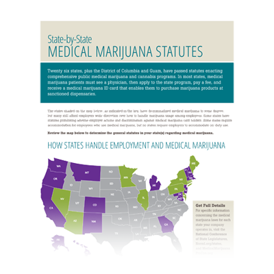 2017 State-by-State Map of Medical Marijuana [Infographic]