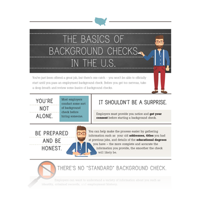 The Basics of Background Checks in the United States [Infographic]