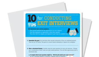 10 Tips for Conducting Exit Interviews