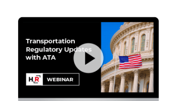 Regulatory Update with ATA Webinar