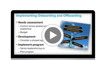 5 Things Every Company Should Include in Their Onboarding and Offboarding Programs Webinar
