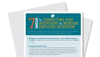7 Steps for Conducting Stay Interviews to Increase Employee Retention