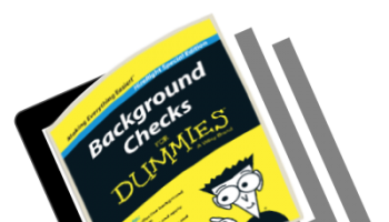 Background Checks For Dummies [eBook]