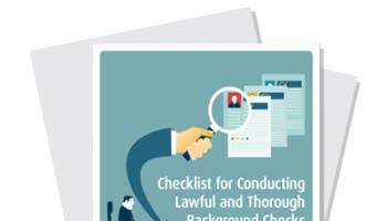 Checklist for Conducting Lawful and Thorough Background Checks