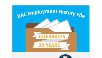 DAC Employment History File [Infographic]
