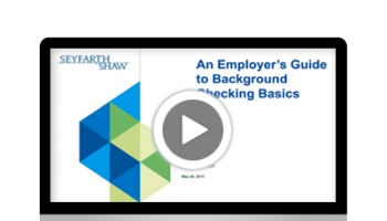 An Employer's Guide to Background Checking Basics