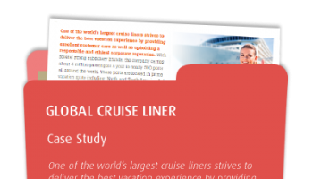 Case Study: Global Cruise Liner