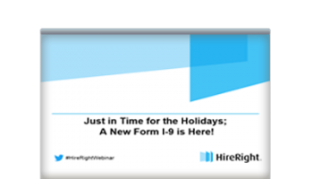 Everything You Need to Know About the New Form I-9 [Presentation]