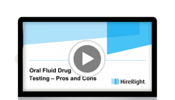 Why Choose Oral Fluid Versus Urine Drug Testing?