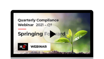 2021 Q1 Compliance Update Spring Forward