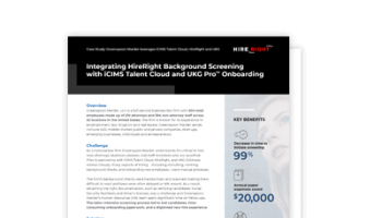 Case Study: Greenspoon Marder leverages iCIMS Talent Cloud, HireRight and UKG