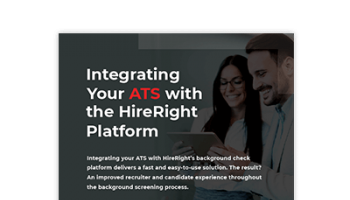 Integrating Your ATS with the HireRight Platform