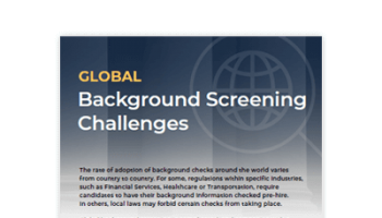 Global Background Screening Challenges