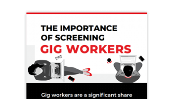The Importance of Screening Gig Workers