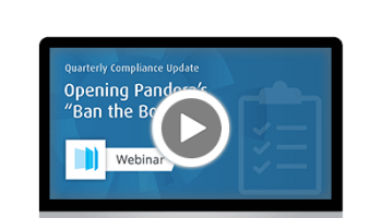 Webinar - Q1 2018 Compliance Update - Ban the Box