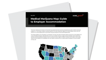 Medical Marijuana Map: Guide to Employer Accommodation