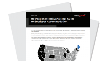 Recreational Marijuana Map: Guide to Employer Accommodation