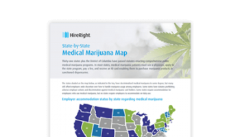 2018 State-by-State Map of Medical Marijuana [Infographic]