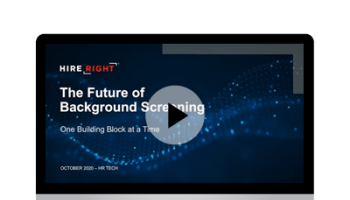 The Future of Background Screening: One Building Block at a Time