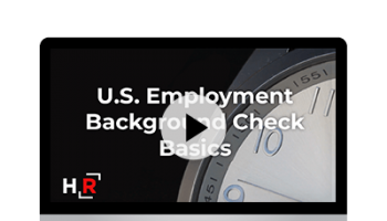 U.S. Background Check Basics