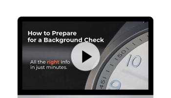 How to Prepare for a Background Check