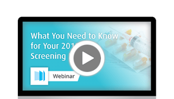 Webinar - What you need to know for your  2018 drug screening program