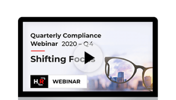 Compliance Update: Shifting Focus - 2020 Year in Review