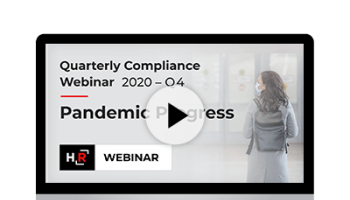 2020 Q3 Compliance Update: Pandemic Progress
