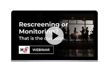 Product Launch Webinar: Rescreening or Monitoring? That is the question.