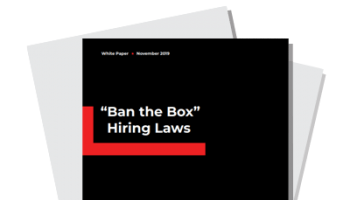 """Ban the Box"" Hiring Laws 2019"