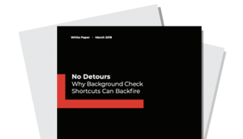 No Detours: Why Background Check Shortcuts Can Backfire