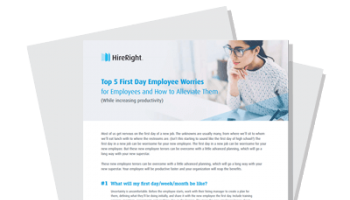 Top 5 First Day Employee Worries and How to Eliminate Them