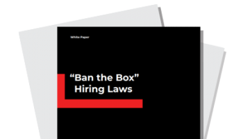 """Ban the Box"" Hiring Laws 2020"