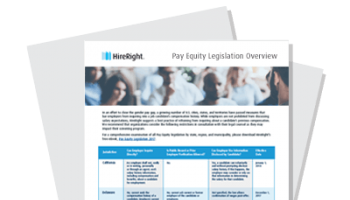 Pay Equity Legislation Overview