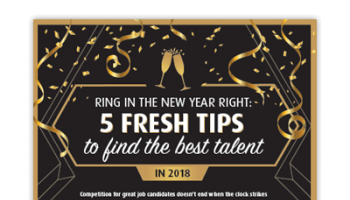 5 Fresh Tips to Find the Best Talent in 2018
