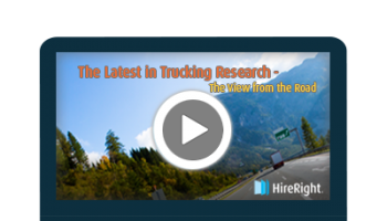 The Latest in Trucking Research - A View from the Road