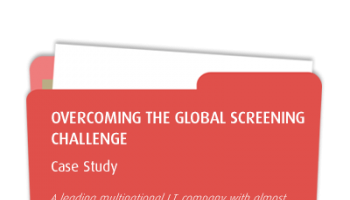 Fortune 100 IT Company Rolls Out Global Screening to 93 Countries