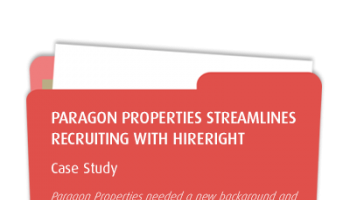 Paragon Properties Expedites Screening Process with HireRight
