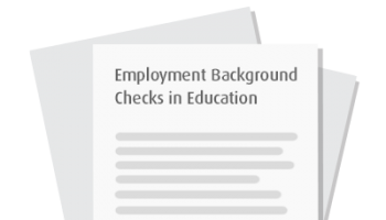 Employment Background Checks in Education - Data from the 2014 Annual HireRight Employment Background Screening Survey