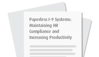 Paperless I-9 Systems: Maintaining HR Compliance